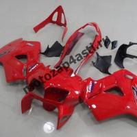 Комплект мотопластика Honda VFR800 98-01  Красный.