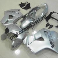 Комплект мотопластика Honda VFR800 98-01  Серебристый.