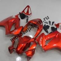 Комплект мотопластика Honda VFR800 02-12  Оранжевый.
