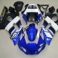 Комплект Пластика Yamaha R6 98-02 Черно-Синий-Белый штатный