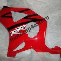 Боковинка Honda CBR954rr 02-03 левая Цвет Красно-черный