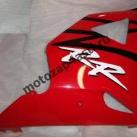 Боковинка Honda CBR954rr 02-03 правая Цвет: Красно-черный