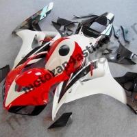 Комплект мотопластика Honda CBR1000RR 2006-2007 Штатный Бело-красно-черный-2.