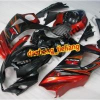 Комплекты пластика Suzuki GSXR1000 07-08 Штатный Черно-красный.