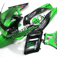Комплект пластика Kawasaki ZZR400II 93-03 Monster Energy