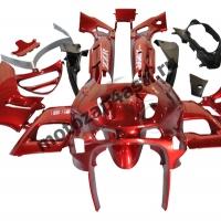 Комплект пластика Kawasaki ZZR400II 93-03 Красный