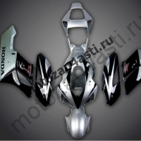 Комплект пластика Honda CBR1000RR 2004-2005 Black-Silver