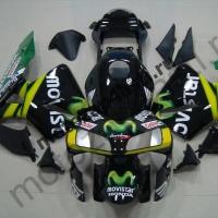 Комплект Мотопластика Honda CBR600RR 05-06 Movistar Черный