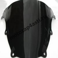 Ветровое стекло SV650-SV1000 03-12 Дабл Бабл Черный