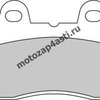 Колодки тормозные ST001 (Nissin 2p-201, 2p-242, EBC FA69)