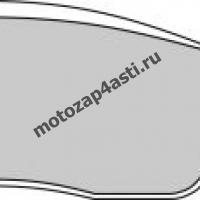 Колодки тормозные ST019 (Nissin 2p-266 EBC FA275)