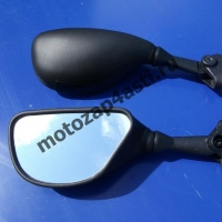 Зеркала для  KAWASAKI ZX6RR/ZX6R 636 03-04 Черные #6043