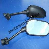 Зеркала для SUZUKI GSXR1000, SV650/1000S 03-06 Черные #6035