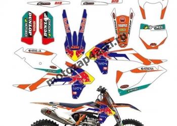 Наклейки для мотопластиков Honda, Yamaha, Kawasaki, Suzuki.