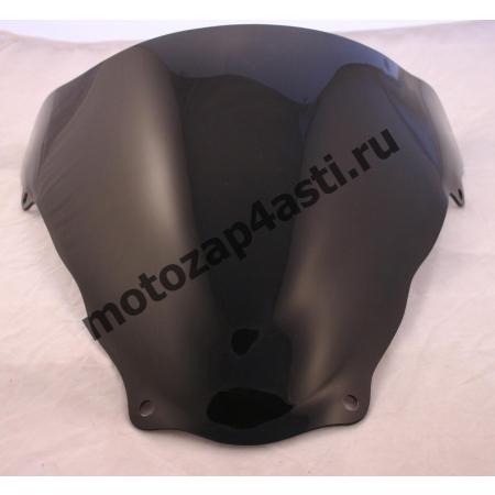 Ветровое стекло SV650 99-02 Дабл Бабл цвет Черный