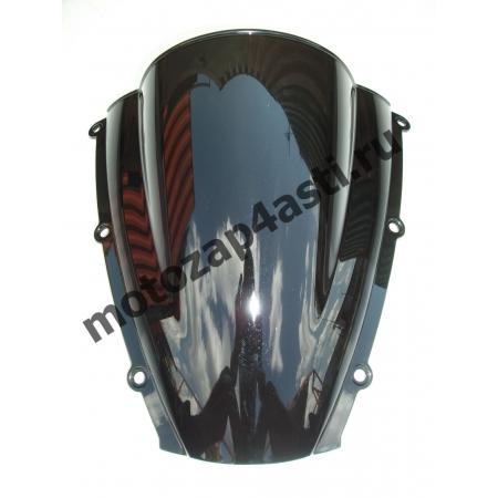 Ветровое стекло CBR600rr Дабл-Бабл 03-04 Черное