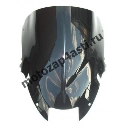 Ветровое стекло VTR1000 FireStorm Дабл-Бабл 98-00 Черное