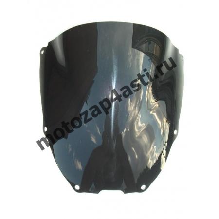 Ветровое стекло VTR1000 SP1/SP2 Дабл-Бабл 01-03 Черное