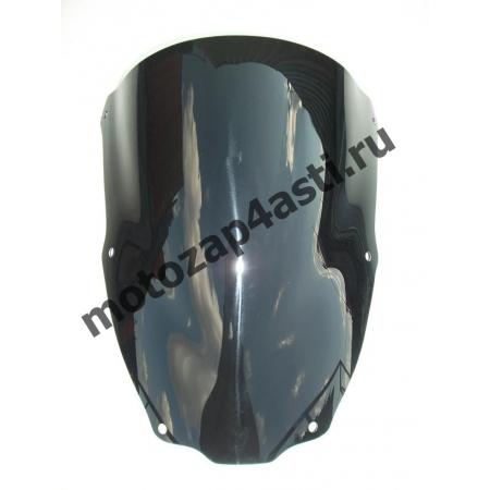 Ветровое стекло ZX-6R 2000-2002 Черное.
