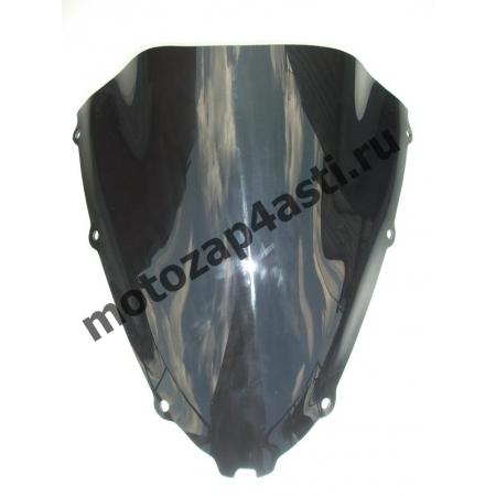 Ветровое стекло ZZR1400 2006-2011 Дабл Бабл Черное