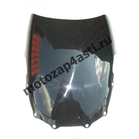 Ветровое стекло ZZR400-600 08-12 Дабл Бабл Черное