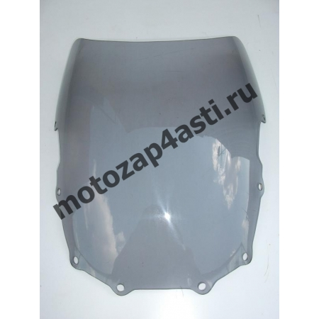 Ветровое стекло ZZR400-600 08-12 Дабл Бабл Дымчатое
