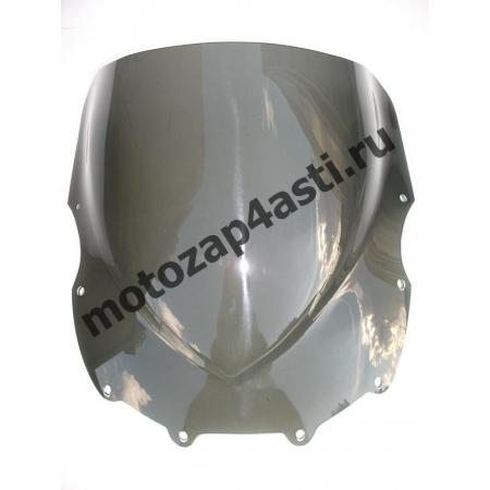 Ветровое стекло ZZR400II/ZZR600 1993-2007 Дабл Бабл Дымчатое