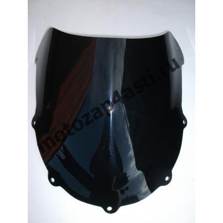 Ветровое стекло GSXR600-750 96-99 Дабл Бабл. Цвет Черный