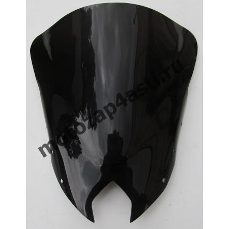 Ветровое стекло FZ6R 09-12, XJ6 Diversion F 10-12 Черное