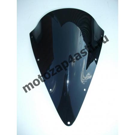 Ветровое стекло FZS600 Fazer  2001-2002 Дабл Бабл Черное