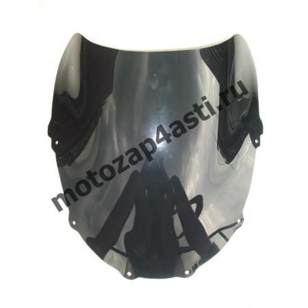 Ветровое стекло ZZR1100D 1993-2002 Дабл Бабл Черное