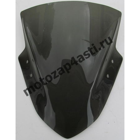 Ветровое стекло Ninja 300 (EX300) 13-17 Дымчатое
