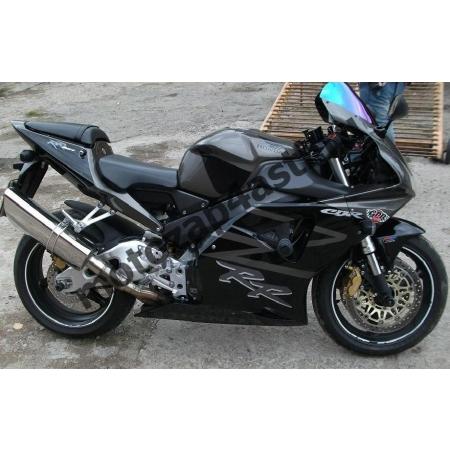 Комплект Мотопластика для мотоцикла Honda CBR954rr 02-03 (Черно-Серый Штатный)
