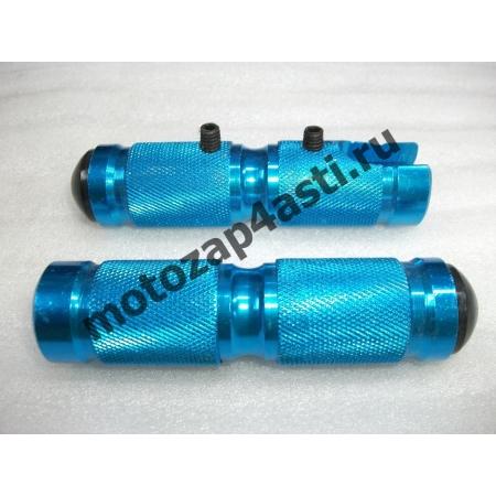 Подножки Передние универсальные POSH Тип-2 Синий