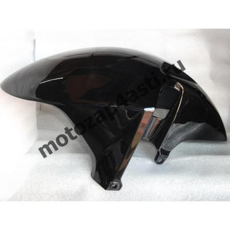 крыло переднее Honda CBR929, CBR954rr 00-03 Цвет Черный