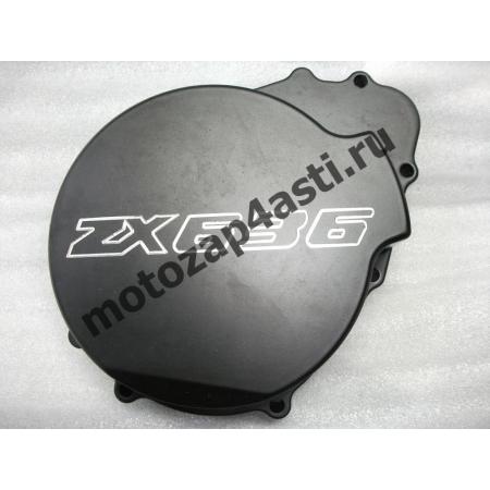 Крышка генератора Kawasaki ZX6R/ZX636 03-04 Черная