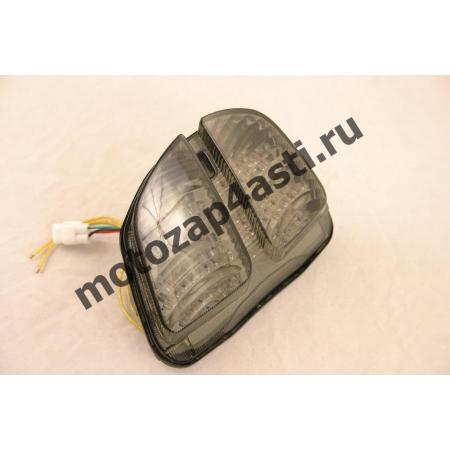Стоп-сигнал Светодиодный Suzuki 06-07 GSXR 600\GSXR 750 дымчатое стекло