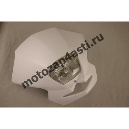 Стрит морда Классическая №1, с квадратной фарой цвет: Белый