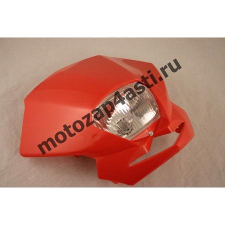 Стрит морда Классическая №1, с квадратной фарой цвет: Красный