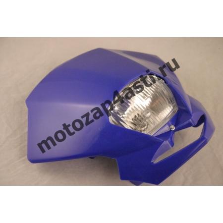 Стрит морда Классическая №1, с квадратной фарой цвет: Синий
