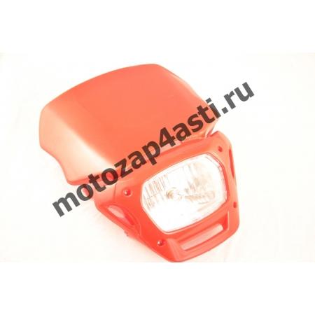 Стрит морда Классическая №2, с квадратной фарой цвет: Красный