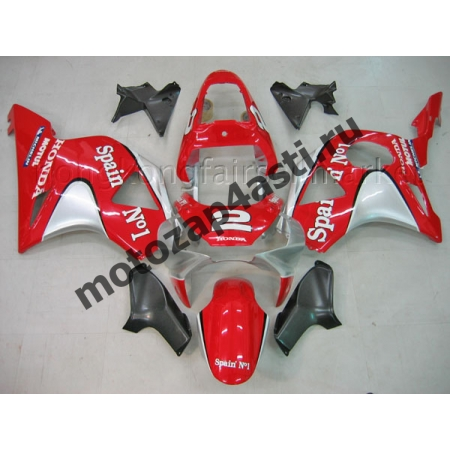 Комплект пластика Honda CBR954RR 2002-2003 Spain #1