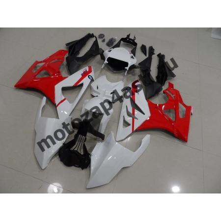 Комплект Мотопластика BMW S1000-1000RR 09-12 Бело-Красный.
