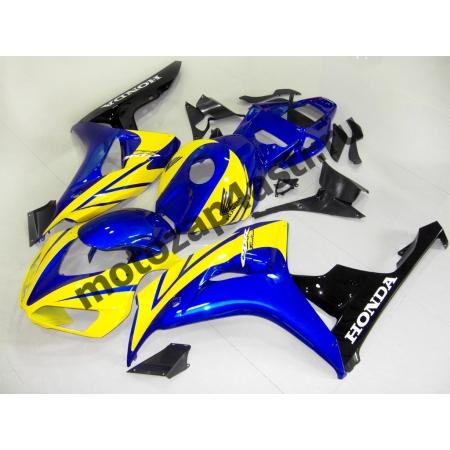 Комплект пластика Honda CBR1000RR 2006-2007 Сине-желто-черный.