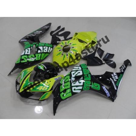 Комплект пластика Honda CBR1000RR 2006-2007 Repsol-V.Rossi-3.