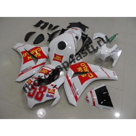 Комплекты пластика Honda CBR1000RR 2008-2011 SAN CARLO.