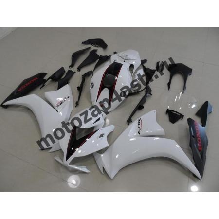 Комплекты пластика Honda CBR1000RR 2012-2014 Черно-Белый-1.