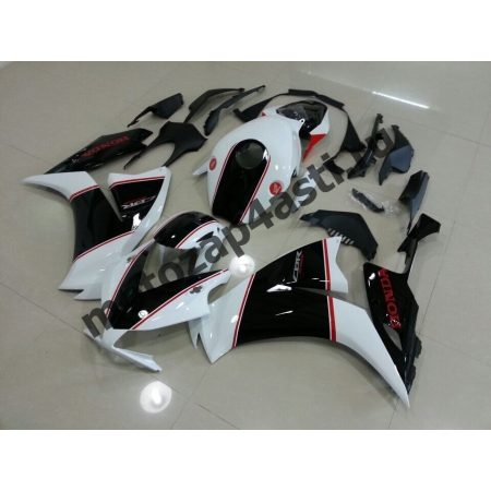 Комплекты пластика Honda CBR1000RR 2012-2014 Черно-Белый-2.