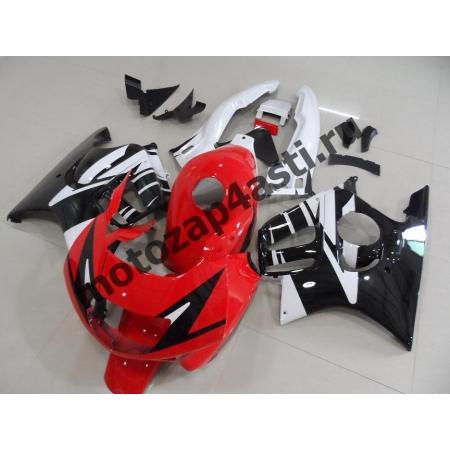 Комплект мотопластика Honda CBR600F3 95-98 Красно-Бело-Черный.