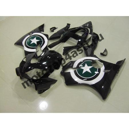 Комплект пластика для мотоцикла Honda CBR600 F4i 01-07 Черный со звездой.